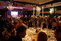 22 NOV 2002, BERLIN/GERMANY:<br /> Uebersicht Saal Potsdam, Bundespresseball 2002 unter dem Motto Staats-Theater, Hotel Interconti<br /> IMAGE: 20021122-01-033<br /> KEYWORDS: Ball, Tanz, Presseball, Übersicht