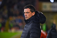 Jack Ross of Sunderland (Manager) looks on during the EFL Sky Bet League 1 match between Barnsley and Sunderland at Oakwell, Barnsley, England on 12 March 2019.