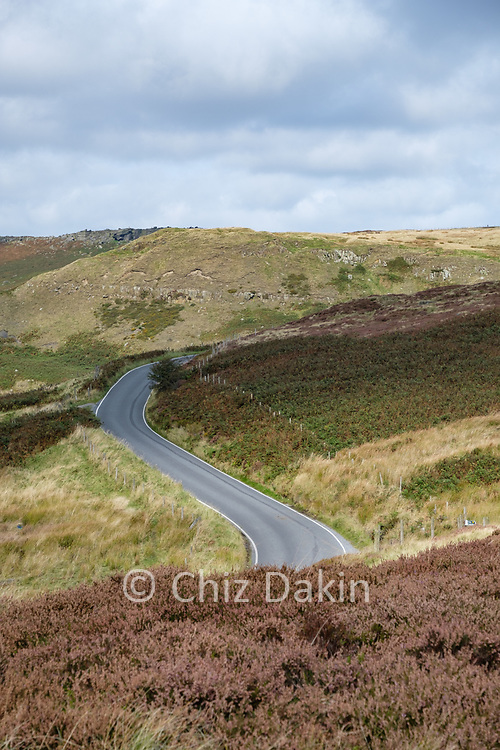 Callow Bank from Hathersage Moor