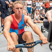 3:30 PM- APL #35 Heat 1- Men?s 500m U16<br /> <br /> NZ Indoor Champs, raced at Avanti Drome, Cambridge, New Zealand, Saturday 23rd November 2019 © Copyright Steve McArthur / @rowingcelebration www.rowingcelebration.com