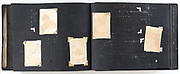 photo album with missing and fading images Japan ca late 1940s