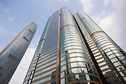 Financial District Two IFC ( International Finance Centre) and One and Two Exchange, Central Hong Kong, China