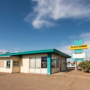 Rubee's Diner on Route 66 in Tucumcari, New Mexico