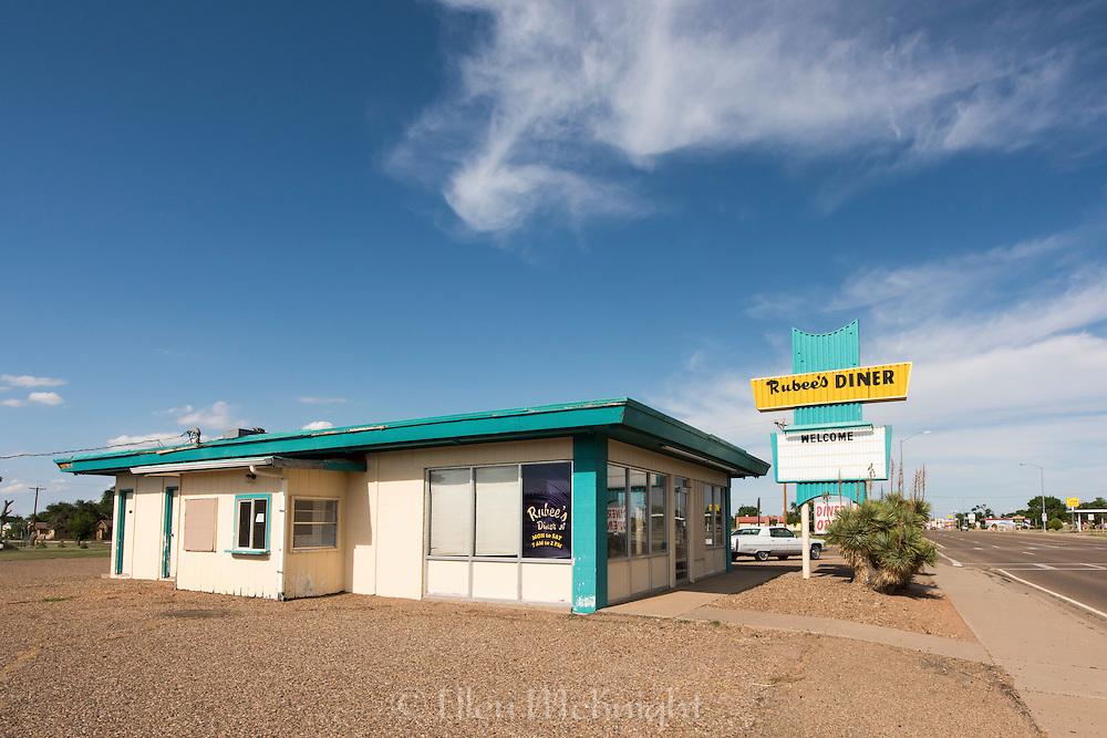 Rubee's Diner on Route 66 in Tucumcari, New Mexico