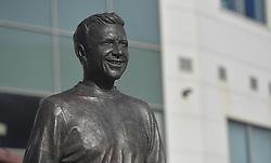 The Jimmy Armfield statue outside Bloomfield Road