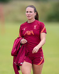 WALLASEY, ENGLAND - Wednesday, July 28, 2021: Liverpool's Leighanne Robe during a training session at The Campus as the team prepare for the start of the new 2021/22 season. (Pic by David Rawcliffe/Propaganda)