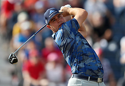 USA's Gary Woodland during day one of The Open Championship 2018 at Carnoustie Golf Links, Angus. PRESS ASSOCIATION Photo. Picture date: Thursday July 19, 2018. See PA story GOLF Open. Photo credit should read: David Davies/PA Wire. RESTRICTIONS: Editorial use only. No commercial use. Still image use only. The Open Championship logo and clear link to The Open website (TheOpen.com) to be included on website publishing.