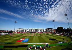 The sun shines over Bristol's County Ground as England Women take on South Africa Women in the Women's World Cup - Mandatory by-line: Robbie Stephenson/JMP - 05/07/2017 - CRICKET - County Ground - Bristol, United Kingdom - England Women v South Africa Women - ICC Women's World Cup Group Stage