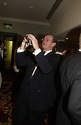 Geoffrey Burnand. White Knights Ball, Grosvenor House. Park Lane. London. 6  January 2006. ONE TIME USE ONLY - DO NOT ARCHIVE  © Copyright Photograph by Dafydd Jones 66 Stockwell Park Rd. London SW9 0DA Tel 020 7733 0108 www.dafjones.com