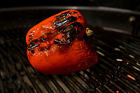 Fire roasted red sweet pepper.