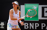 Nadia Podoroska of Argentina in action during the first round of the 2021 Internazionali BNL d'Italia, WTA 1000 tennis tournament on May 11, 2021 at Foro Italico in Rome, Italy - Photo Rob Prange / Spain ProSportsImages / DPPI / ProSportsImages / DPPI