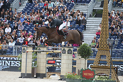 Delaveau Patrice, FRA, Aquila Hdc<br /> Global Champions League- Paris Eiffel 2017<br /> © Hippo Foto - Dirk Caremans<br /> 01/07/17