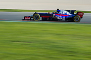 March 7-10, 2017: Circuit de Catalunya. Carlos Sainz Jr. (SPA) Scuderia Toro Rosso, STR12