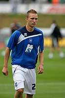 Football<br /> Coca Cola Football League One<br /> Brighton and Hove Albion vs Wycombe Wanderers at The Withdean Stadium, Brighton<br /> Brighton's Matt Thornhill (On loan from Nottingham Forest)<br /> 05/09/2009<br /> Credit Colorsport / Shaun Boggust