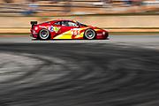 September 30-October 1, 2011: Petit Le Mans at Road Atlanta. 61 Rui Aguas; Justin Bell, Rob Kauffman, Ferrari F430, AF Corse