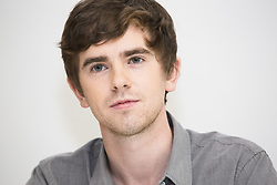 August 7, 2017 - Hollywood, California, U.S. - FREDDIE HIGHMORE stars in the TV series 'The Good Doctor.' Alfred Thomas 'Freddie' Highmore (born 14 February 1992) is an English actor and screenwriter. He made his acting debut in the comedy film Women Talking Dirty (1999), and has since starred in Finding Neverland (2004), Five Children and It (2004), Charlie and the Chocolate Factory (2005), Arthur and the Invisibles (2006), August Rush (2007), The Spiderwick Chronicles (2008), Toast (2010), and The Art of Getting By (2011). He won the Critics' Choice Movie Award for Best Young Performer in two consecutive years (2004–2005). For five seasons, Highmore starred in the A&E drama-thriller series Bates Motel (2013–2017), for which he was twice nominated for the Critics' Choice Television Award for Best Actor in a Drama Series. In 2017, he won a People's Choice Award for his performance. (Credit Image: © Armando Gallo via ZUMA Studio)