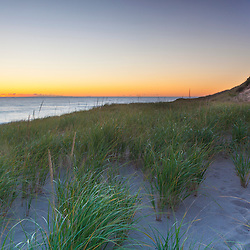 Dawn at Head of the Meadow Beach in the Cape Cod National Seashore, Truro, Massachusetts.