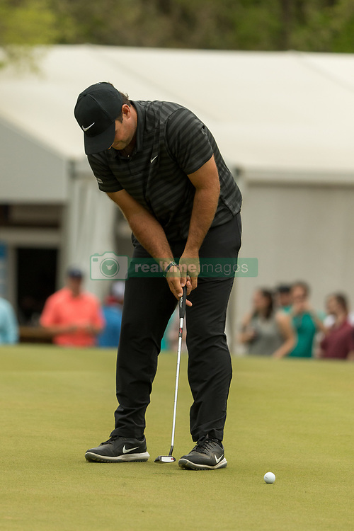 March 23, 2018 - Austin, TX, U.S. - AUSTIN, TX - MARCH 23: Patrick Reed attempts a birdie putt during the WGC-Dell Technologies Match Play Tournament on March 22, 2018, at the Austin Country Club in Austin, TX. (Photo by David Buono/Icon Sportswire) (Credit Image: © David Buono/Icon SMI via ZUMA Press)