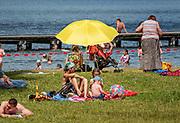 Kąpielisko w pobliżu wsi Krzywe koło Suwałk, Polska<br /> Bathing area near the village of Krzywe near Suwałki, Poland