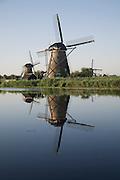 Windmills at Kinderdijk, Netherlands