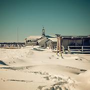 """Today's white Blizzard """"Nemo"""" in Narragansett,  February  10,2013."""
