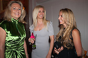 LADY MYNERS; JENNY HALPERN; BIANCA LADOW, The 2012 Veuve Clicquot Business Woman of the Year Award .  Celebrating women's excellence in business.  Claridge's, Brook Street, London, 18 April 2012
