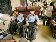 On the local train from Dorud town to Bisheh waterfall. <br /> <br /> Travelling over 4000km by train across Iran. An opportunity to enjoy Persian hospitality, discover Iran's ancient cities and its varied landscapes, from deserts to mountains.