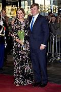 Koningsdagconcert in Theaters Tilburg / King's concert in Theaters Tilburg<br /> <br /> op de foto / On the photo: <br /> <br />  Koning Willem Alexander en Koningin Maxima / King Willem Alexander and Queen Maxima