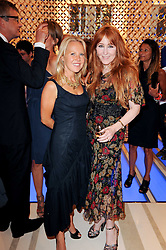 Left to right, ALICE BAMFORD and CAMILLA LOWTHER at a party to celebrate the opening of the Louis Vuitton Bond Street Maison, New Bond Street, London on 25th May 2010.