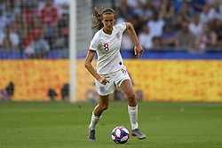 June 27, 2019 - Le Havre, France - Jill Scott (Manchester City WFC) of England controls the ball during the 2019 FIFA Women's World Cup France Quarter Final match between Norway and England at  on June 27, 2019 in Le Havre, France. (Credit Image: © Jose Breton/NurPhoto via ZUMA Press)