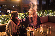 ON THE SMOKING TERRACE, the LOST HEARTS: Valentine's Masked Ball. Century Club, Shaftesbury ave, ,  London, 9 February 2019