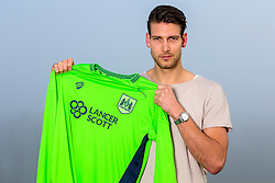 Bristol City's new signing Fabian Giefer poses with a shirt on his arrival at the club - Mandatory by-line: Robbie Stephenson/JMP - 19/01/2017 - FOOTBALL - Bristol City Training Ground - Bristol, England - Bristol City New Signing - Fabian Giefer