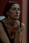 Bergamo: Monica Palazzoli. her husband passed away in the hospital during the lockdown