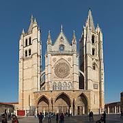Santa Maria de Regla cathedral Plaza de Regla , Leon spain castile and leon