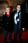 Premiere Les Miserables (2009) in theater Carre.<br /> <br /> Op de Foto:<br />  Frank Sanders (R)