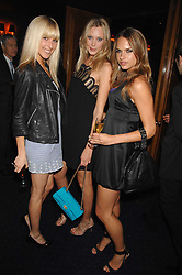 Left to right, AYESHA MAKIM neice of Sarah, Duchess of York, LISA HENREKSON and NATHALIE BOMGREN at a party to celebrate the publication of the 2007 Tatler Little Black Book held at Tramp, 40 Jermyn Street, London on 7th November 2007.<br /><br />NON EXCLUSIVE - WORLD RIGHTS