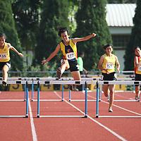 A Division Girls 400m Hurdles
