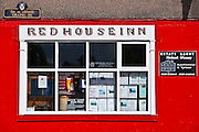 The Red House Inn public bar in Chapel Street, Lismore, County Waterford, Ireland