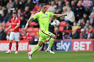 Tomer Hemed of Brighton & Hove Albion in action. Skybet football league championship match, Charlton Athletic v Brighton & Hove Albion at The Valley  in London on Saturday 23rd April 2016.<br /> pic by John Patrick Fletcher, Andrew Orchard sports photography.