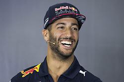 July 13, 2017 - Silverstone, Great Britain - Motorsports: FIA Formula One World Championship 2017, Grand Prix of Great Britain, ..#3 Daniel Ricciardo (AUS, Red Bull Racing) (Credit Image: © Hoch Zwei via ZUMA Wire)