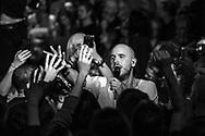 Arnór Dan Arnarson of Icelandic alternative-rock band Agent Fresco at Iceland Airwaves