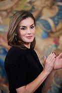 020918 Queen Letizia attends Delivery of the 28th edition of the 'Tomas Francisco Prieto Prize