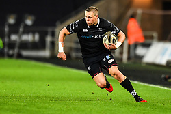 Ospreys' Hanno Dirksen in action during todays match<br /> <br /> Photographer Craig Thomas/Replay Images<br /> <br /> Guinness PRO14 Round 18 - Ospreys v Leinster - Saturday 24th March 2018 - Liberty Stadium - Swansea<br /> <br /> World Copyright © Replay Images . All rights reserved. info@replayimages.co.uk - http://replayimages.co.uk