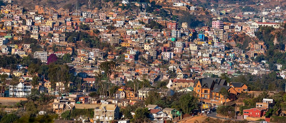 Buidings close to Ambohipotsy, Antananarivio Madagascar