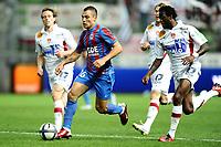 Fotball<br /> Frankrike<br /> Foto: Dppi/Digitalsport<br /> NORWAY ONLY<br /> <br /> FOOTBALL - FRENCH CHAMPIONSHIP 2010/2011 - L1 - SM CAEN v STADE BRESTOIS / BREST - 28/08/2010 - <br /> <br /> YOHAN MOLLO (CAEN)