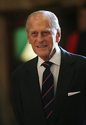 The Duke of Edinburgh attends a Service of Dedication to Admiral Arthur Philip, at Westminster Abbey.