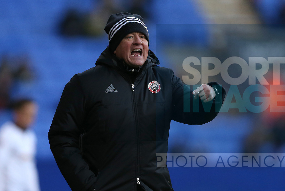 Chris Wilder manager of Sheffield Utd during the FA Cup Second round match at the Macron Stadium, Bolton. Picture date: December 4th, 2016. Pic Simon Bellis/Sportimage