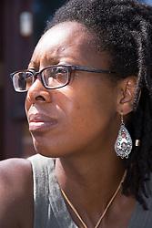 Portrait of Black Woman,