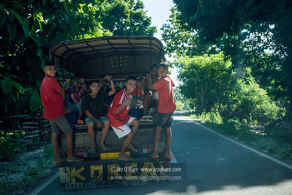 Pulau Rote, Nusa Tenggara Timur, Indonesia.