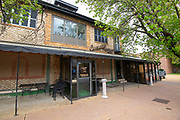 """Exterior view of Cunetto's Photos at Cunetto's House of Pasta """"On The Hill"""" in south St. Louis taken on Wednesday April 21, 2021 for the Better Business Bureau (St. Louis) Torchlight quarterly magazine. <br />Photo byTim Vizer"""
